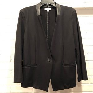 Love Fire Black One Button Jacket, Extra Large for sale